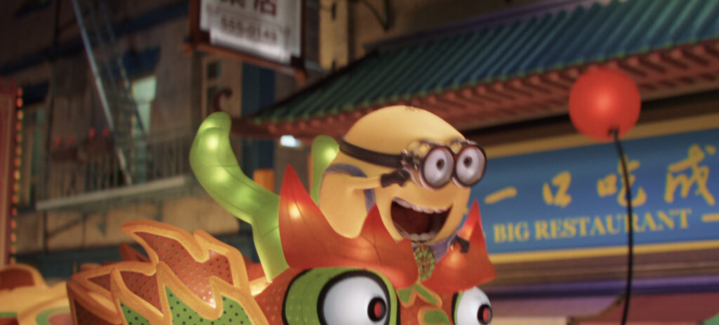 Minions with Big Eyes 2