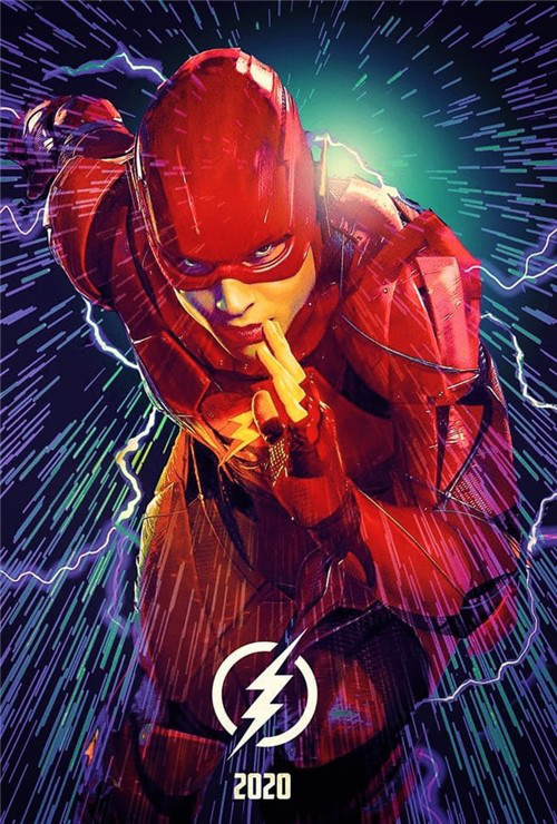 """The Flash"" (2022) Trailer Poster"