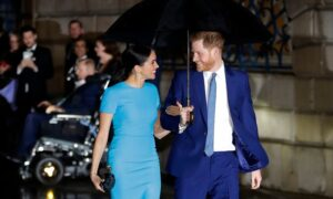Britain's Royal Family Braces for Harry and Meghan Interview