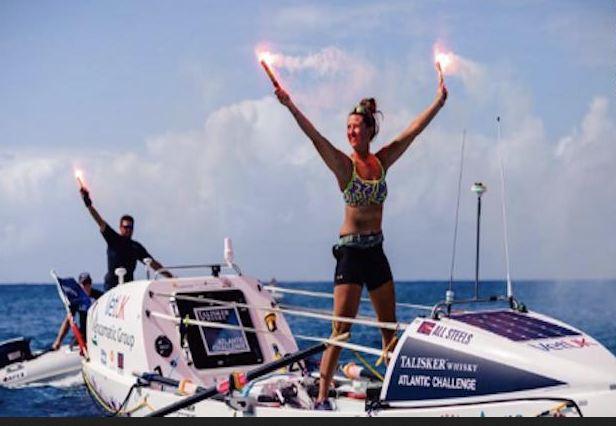 Jasmine Harrison, 21, rows across Atlantic in 70 days, sets record