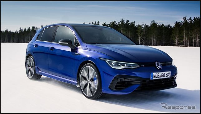 """There is also a drift mode … VW Golf R New, newly developed 4WD """"4MOTION"""" installed!"""