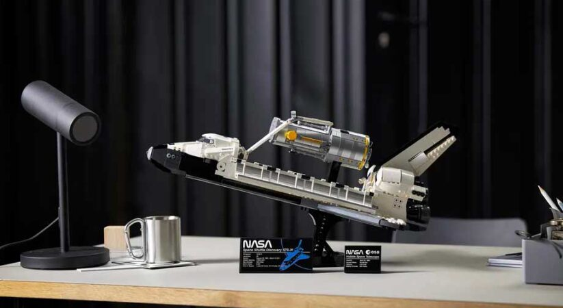 Lego announces its biggest and most detailed Space Shuttle set yet