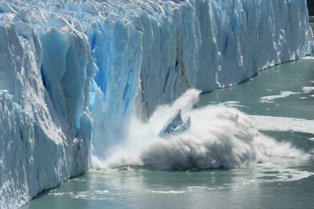 Melting glaciers have been shifting the Earth's poles since 1995, new study suggests