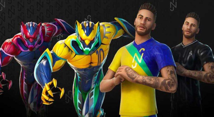 Here's what Neymar looks like in Fortnite