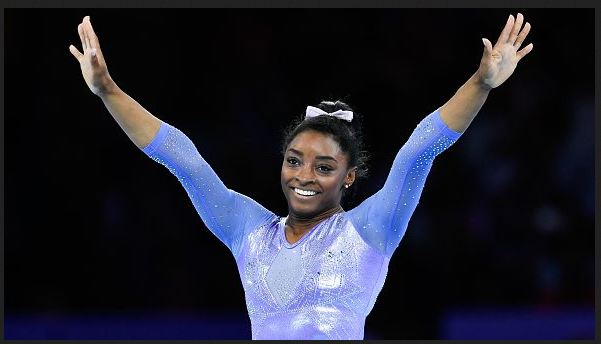 Simone Biles makes gymnastics return at U.S. Classic, knowing she has more to give