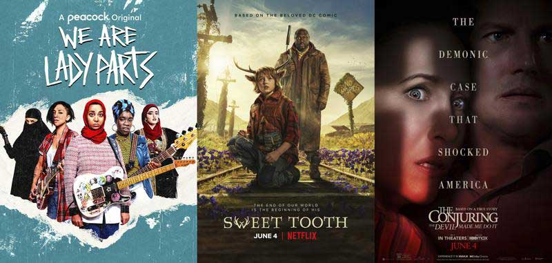 What's on new this week: 'We Are Lady Parts' & a third 'The Conjuring'