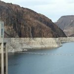 The Hoover Dam reservoir is at an all-time low