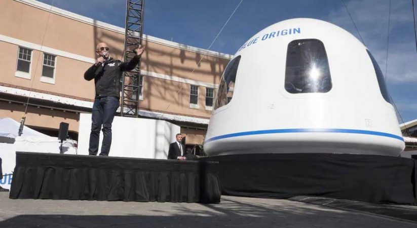 Blue Origin auctions New Shepard ride with Jeff Bezos for $28 million