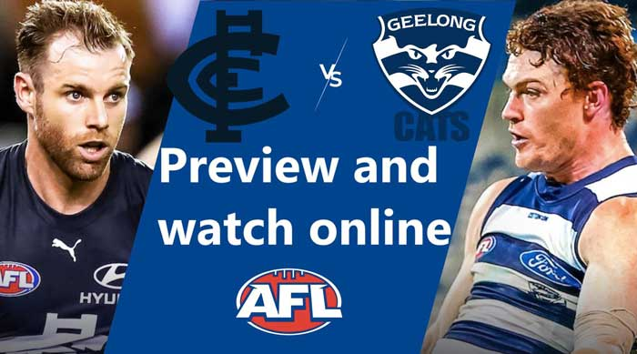 Match preview: Carlton vs Geelong Live Streams Reddit: AFL game Online Without Cable